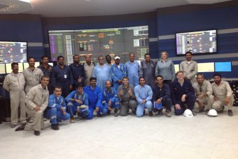 Control Room - Gas Industry PDO Oman