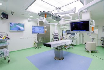 First video-over-IP operating room